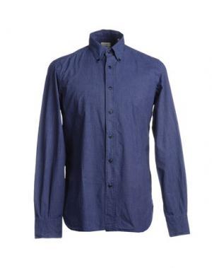 Рубашка с длинными рукавами COAST WEBER & AHAUS. Цвет: темно-синий