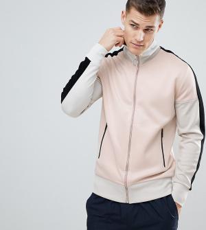Noak Розовая спортивная куртка. Цвет: розовый
