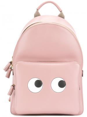 Рюкзак Eyes Anya Hindmarch. Цвет: розовый и фиолетовый