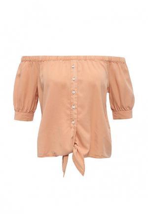 Блуза Noisy May. Цвет: оранжевый