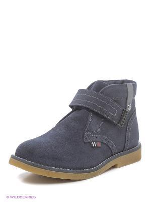 Ботинки ELEGAMI. Цвет: темно-синий