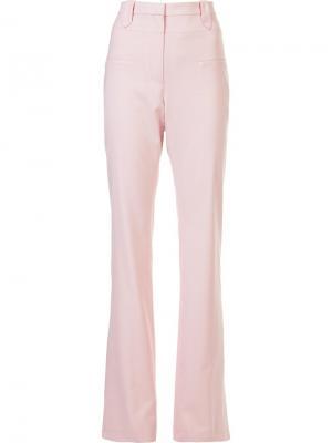 Широкие брюки Altuzarra. Цвет: розовый и фиолетовый