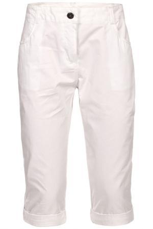 Три четверти брюки Trespass. Цвет: белый