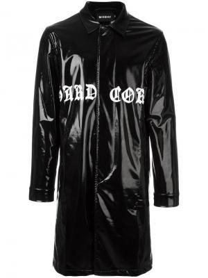 Пальто Hardcore Latex Misbhv. Цвет: чёрный