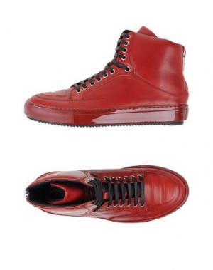 Высокие кеды и кроссовки ALEJANDRO INGELMO. Цвет: красный