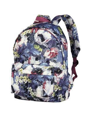 Рюкзак NOSIMOE. Цвет: серо-голубой, белый, сиреневый