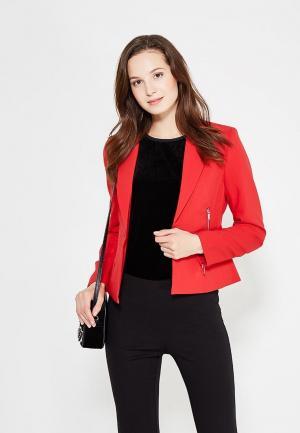 Пиджак oodji. Цвет: красный