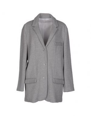 Пальто 6397. Цвет: светло-серый