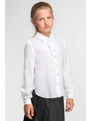 Блузка Briton. Цвет: белый