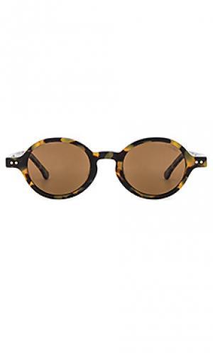 Солнцезащитные очки damon Komono. Цвет: коричневый