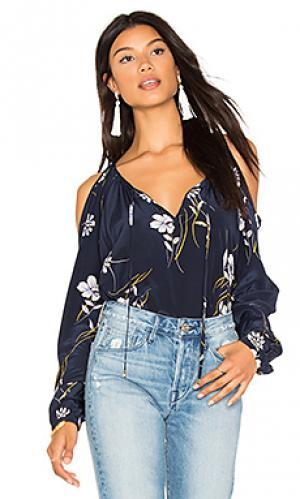 Блузка morning glory Yumi Kim. Цвет: синий
