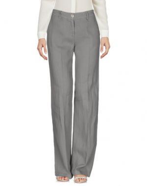 Повседневные брюки LA FEE MARABOUTEE. Цвет: серый
