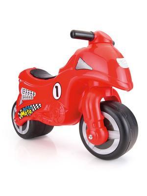 Мой первый мотоцикл-каталка красного цвета Dolu.. Цвет: красный