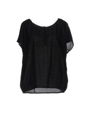 Блузка LOCAL APPAREL. Цвет: черный