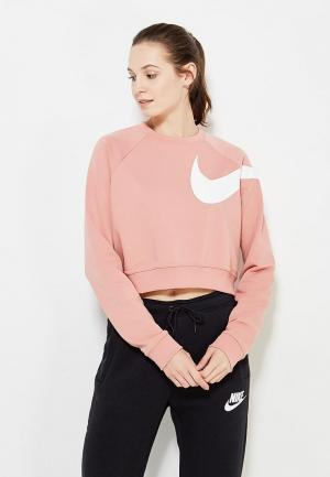 Свитшот Nike. Цвет: розовый