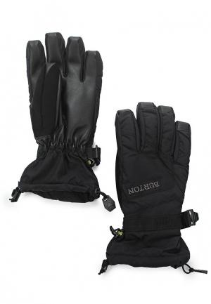 Перчатки горнолыжные Burton. Цвет: черный