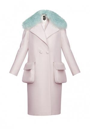 Пальто Anastasya Barsukova. Цвет: розовый