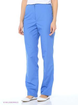 Брюки медицинские Med Fashion Lab. Цвет: голубой