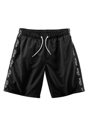 Пляжные шорты, s.Oliver Otto. Цвет: черный