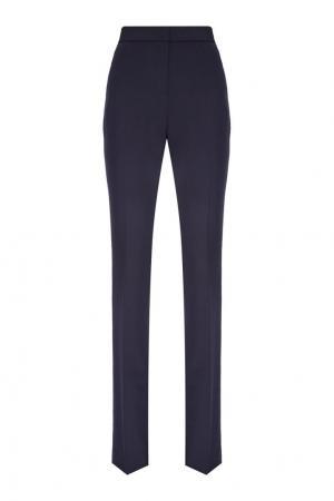 Синие расклешенные брюки Victoria Beckham. Цвет: синий