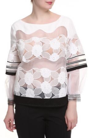 Блуза Maria Grazia Severi. Цвет: белый