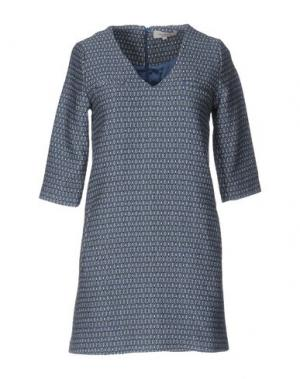 Короткое платье PAUL & JOE. Цвет: лазурный