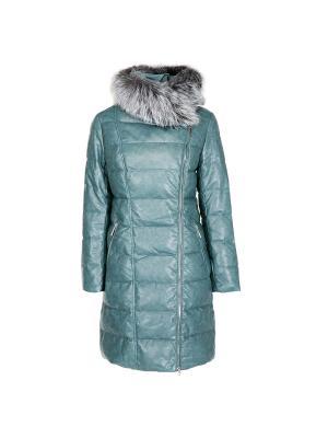 Пальто Snow Guard. Цвет: морская волна
