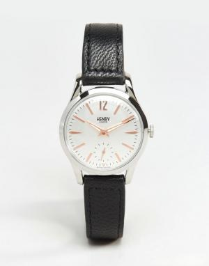 Henry London Черные часы Highgate HL30-US-0001. Цвет: черный