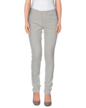 Повседневные брюки BELLEROSE. Цвет: серый