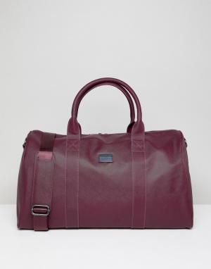 Peter Werth Бордовая сумка. Цвет: красный