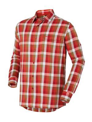 Рубашка Odlo. Цвет: красный