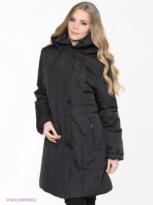 Пальто IMPI Maritta. Цвет: антрацитовый