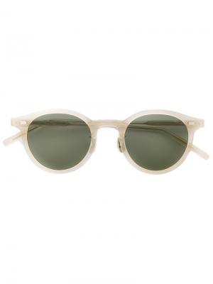 Round frame sunglasses Eyevan7285. Цвет: телесный