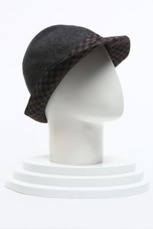 Шляпа Pal Zileri. Цвет: серый