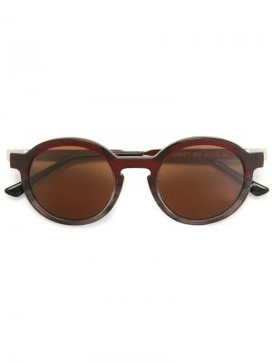 Солнцезащитные очки Sobriety Thierry Lasry. Цвет: красный