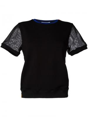 Футболка Sweat Monreal London. Цвет: чёрный