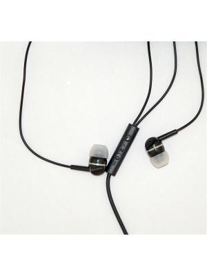 Наушники с микрофоном pro legend sound. Цвет: черный