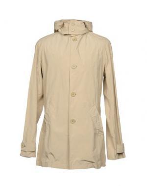 Легкое пальто ASPESI. Цвет: песочный