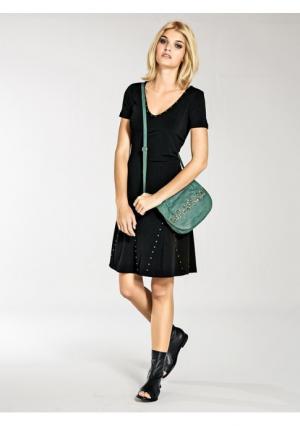 Платье Mandarin. Цвет: черный