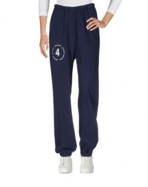 Повседневные брюки 4GIVENESS. Цвет: темно-синий
