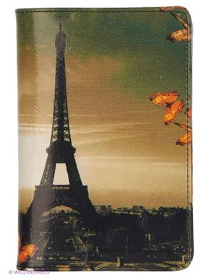 Обложка для документов Flioraj. Цвет: белый, черный, оранжевый