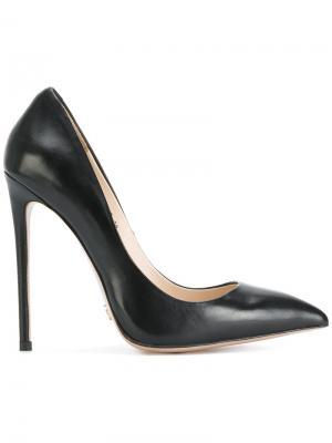 Туфли-лодочки GD1493 с заостренным носком Gianni Renzi. Цвет: чёрный