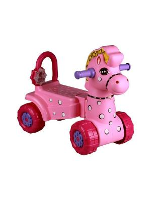 Каталка детская Лошадка (роз.) Альтернатива. Цвет: розовый