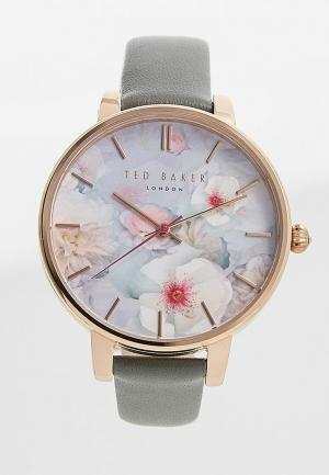 Часы Ted Baker London. Цвет: серый