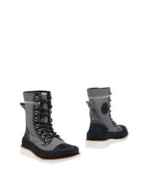 Полусапоги и высокие ботинки CONVERSE ALL STAR. Цвет: серый