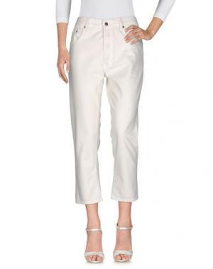 Джинсовые брюки 6397. Цвет: белый