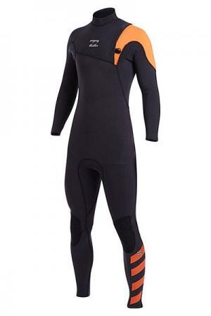 Гидрокостюм (Комбинезон)  Fur. Pro 302 Zl Full Orange Billabong. Цвет: серый,оранжевый