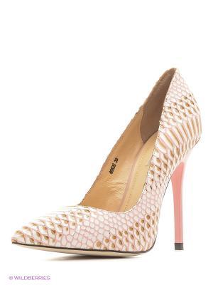 Туфли Vitacci. Цвет: коричневый, розовый