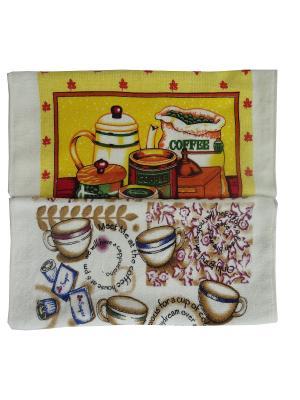 Полотенца кухонные A and C Collection. Цвет: бежевый, белый, желтый