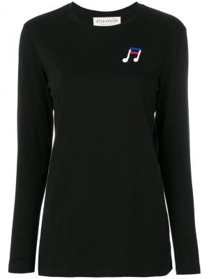 World Tour long sleeve top Être Cécile. Цвет: чёрный
